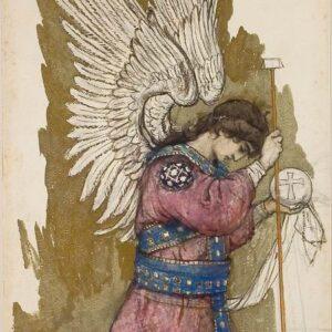 Ангел Михаил, 1893 Васнецов